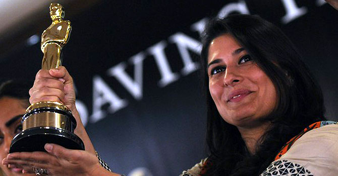 "Sharmeen Obaid-Chinoy received widespread acclaim for her Oscar-winning documentary ""Saving Face."" – Photo by AFP"