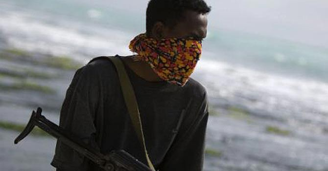 Somali pirates at the Indian Ocean – File photo