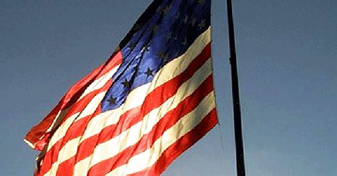 US flag. - File Photo