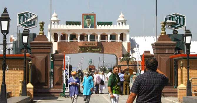 The Attari-Wagah border – Photo Courtesy Sana Kazmi