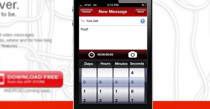 Wickr was billed as a secure social network where people could send text or voice messages as well as pictures or snippets of video with security in place to thwart snoops. – Image taken from Wickr website