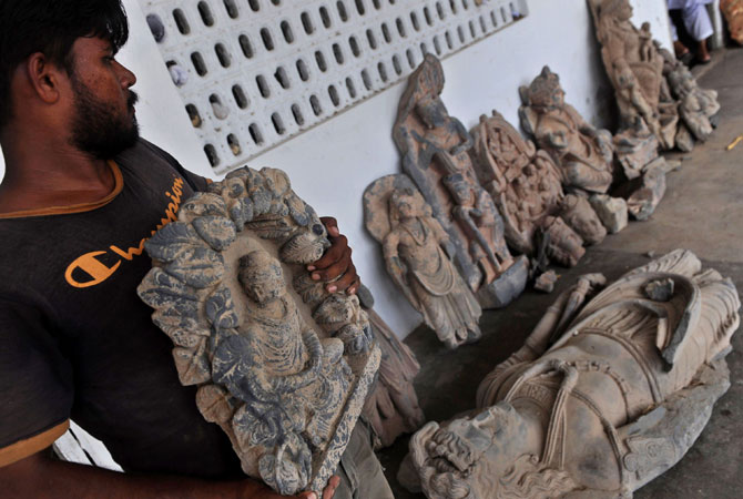 The Gandhara civilization's remains are located in the Peshawar valley, and in some parts of Eastern Afghanistan. Texila was the main centre of the Gandhara civilization. – File photo by AFP