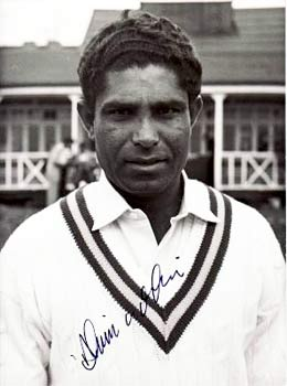 Alimuddin pictured during Pakistan's tour of England in 1962. – Photo courtesy Boundary Books