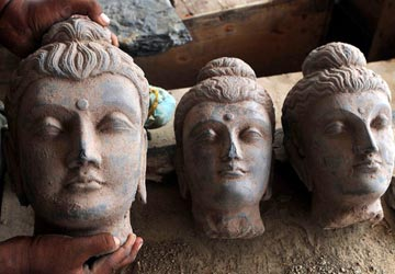 Gandhara relic stolen from police station