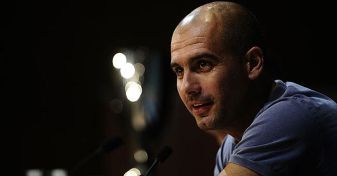 Pep Guardiola. -File photo by AP