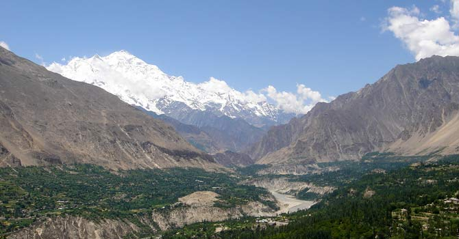 The Hunza valley in Pakistan. – File photo courtesy Creative Commons