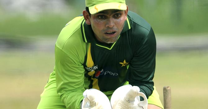 Kamran Akmal was dropped from the Pakistan side after the 2011 World Cup – File photo by AFP