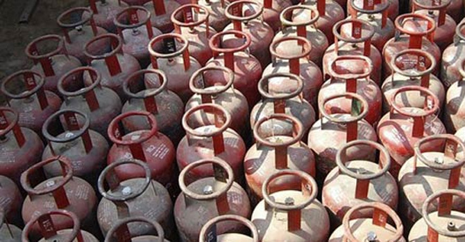 LPG cylinders — File Photo