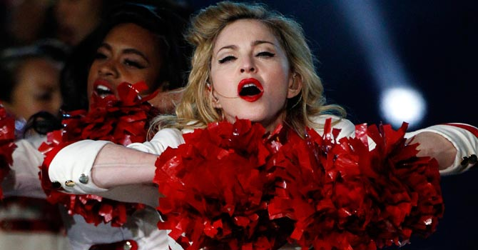 Madonna performs on stage — Reuters Photo