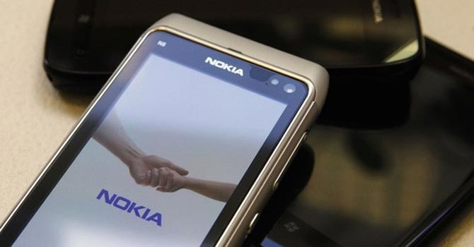 A Nokia phone — File Photo