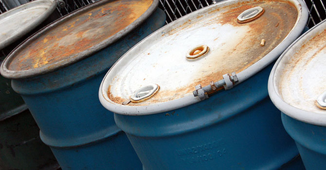 Barrels of oil — File Photo