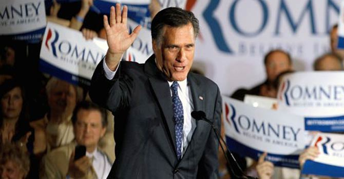 Republican presidential candidate Mitt Romney. - Photo by AFP