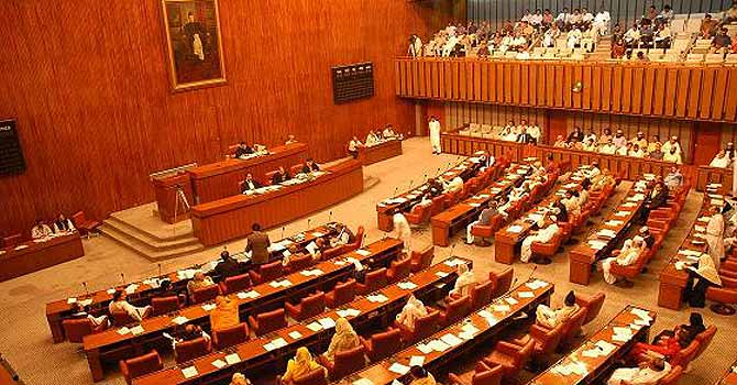 View of a Senate session underway. – File photo by APP