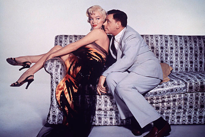 "Actors Marilyn Monroe and Tom Ewell are shown in a scene from their 1955 film ""The Seven Year Itch"" which is featured in a new DVD set, the Forever Marilyn Collection, featuring her classic films. Hollywood will mark the 50th anniversary of the death of the iconic star on August 5, 2012.  — Reuters Photo"