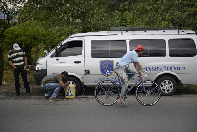 Smuggling is extremely common in Zulia, an opposition stronghold next to the Colombian border, which happens to also be the birthplace of Venezuela's oil industry.