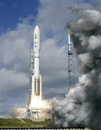 A United Launch Alliance Atlas V rocket — AP Photo