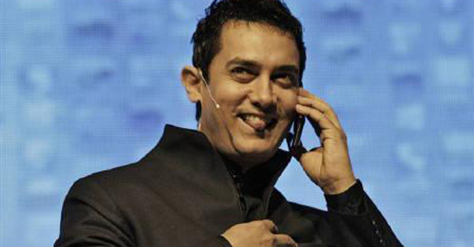 Aamir Khan – File photo by Reuters