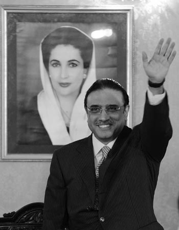 Asif Ali Zardari — Dawn File Photo