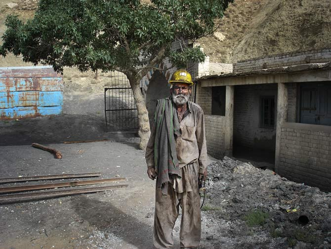 Due to the numerous hazards of working there, the majority of non-local miners have left. Yousuf Gill, is among those who consider the income from mining enough to risk his health and life.