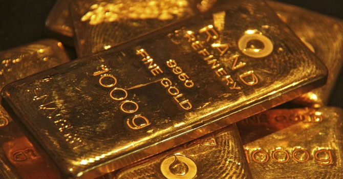 Gold bullion — File Photo