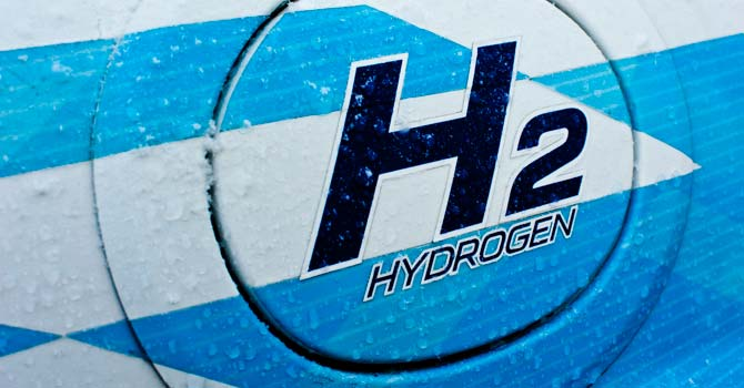 Signage on a hydrogen-powered vehicle. – File photo courtesy Creative Commons
