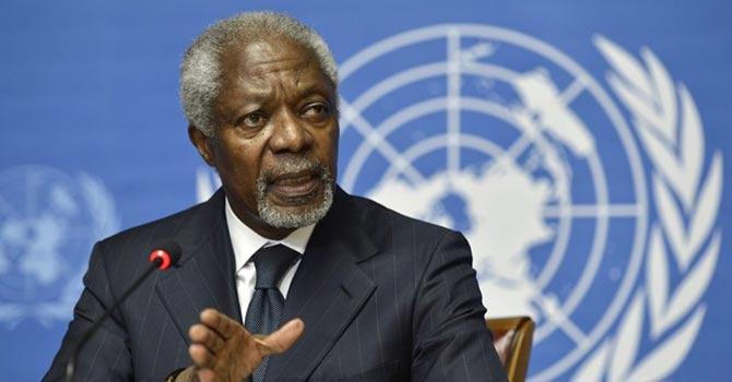 Kofi Annan — AP PhotoKofi Annan — AP Photo