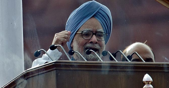 Indian Prime Minister Manmohan Singh — AFP Photo