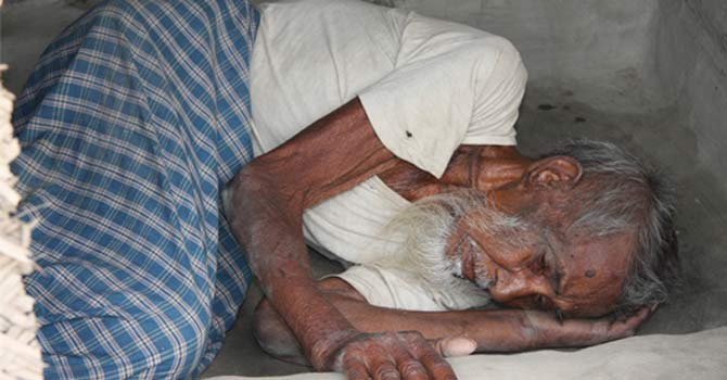 A Pakistani old man — File Photo