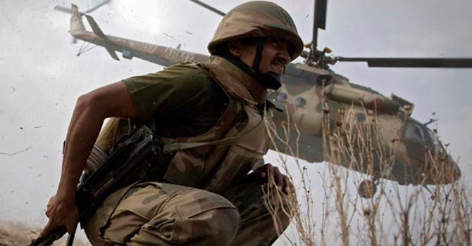 Pakistani army launching an operation — File Photo