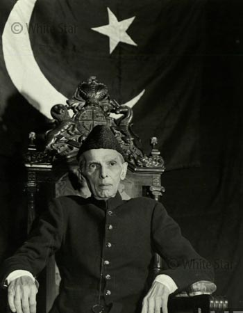 Quaid-e-Azam Muhammad Ali Jinnah — Photo by White Star