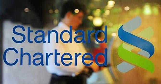 Branch of Standard Chartered Bank — File Photo
