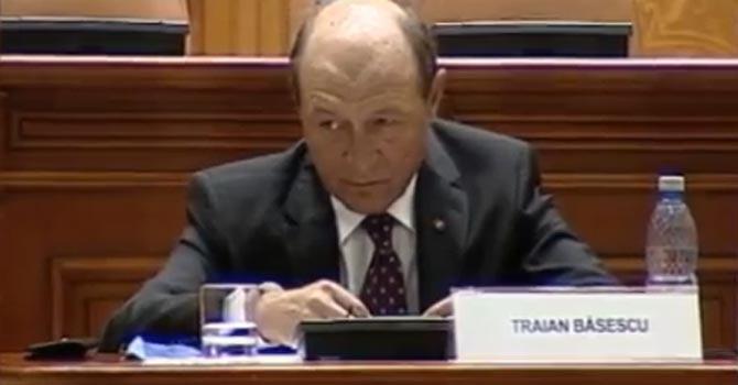 Trian Basescu — YouTube video grab