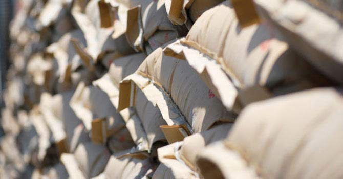 Cement bags — File Photo