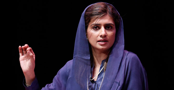 Foreign Minister Hina Rabbani Khar. – Photo by Reuters/File
