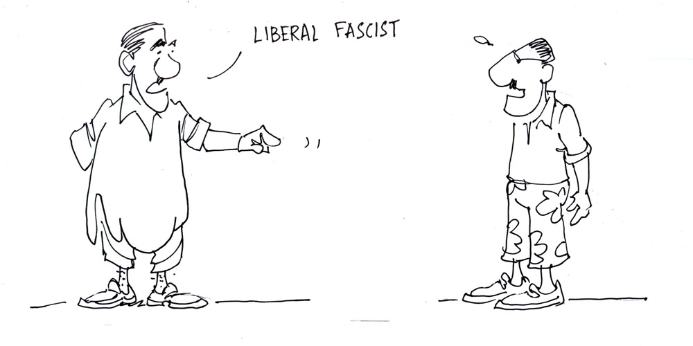 How to spot a liberal fascist