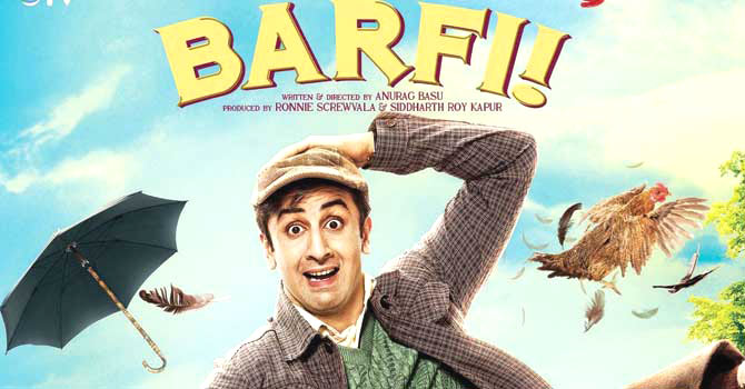 Movie barfi, Barfi, Barfi movie review, Review Of Barfi, Barfi Reviews, Ileana D Cruz