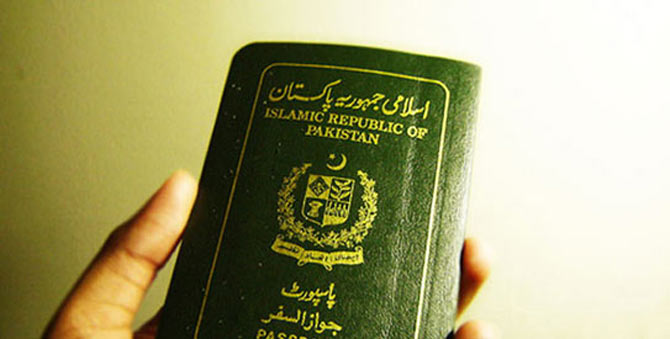 A Pakistani passport. An increasing number of Pakistani men have married foreign-residents despite being in relationship with women and having wives back home – File photo courtesy Creative Commons