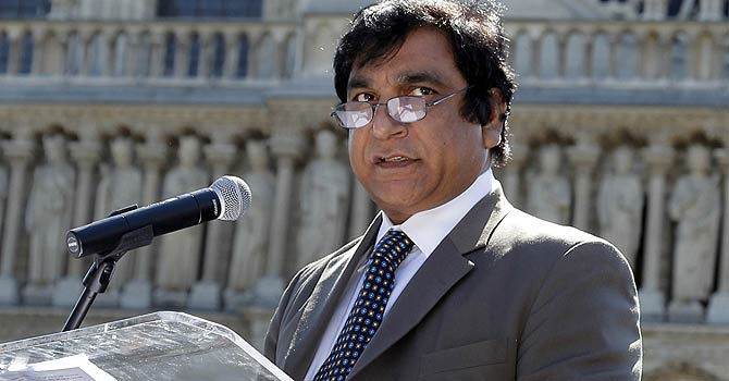 Federal Minister for Interfaith Harmony Paul Bhatti  – File photo by AFP