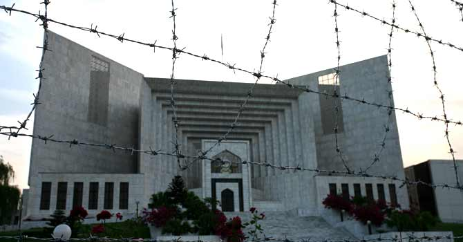 The Supreme Court of Pakistan – File photo by Alia Chughtai/Dawn.com