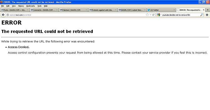 PM orders immediate shutdown of Youtube services