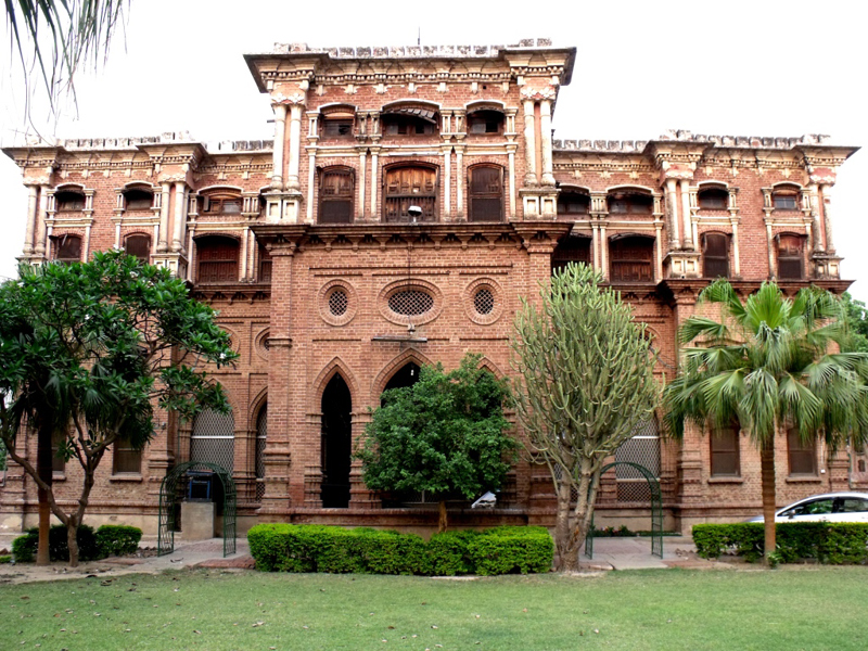 the civil courts, a marble plaque directs towards a house, Kothi ...