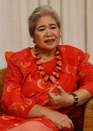 Psychiatrist, Dr Luh Ketut Suryani, talks about mental disorder in Bali at her office in Denpasar.  According to WHO, mental health is defined as a state of well-being in which people realize their own potential, can cope with normal life stresses, can work productively, and can contribute to their community.