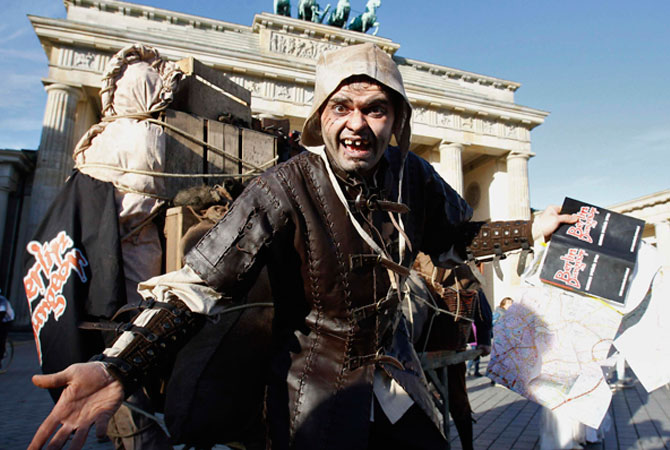 The tourist attraction is a branch by London Dungeon and is planned to open in spring 2013 in the German capital. ? Photo by Reuters