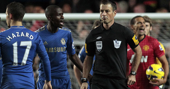 chelsea manchester united, chelsea clattenburg, epl, english premier league