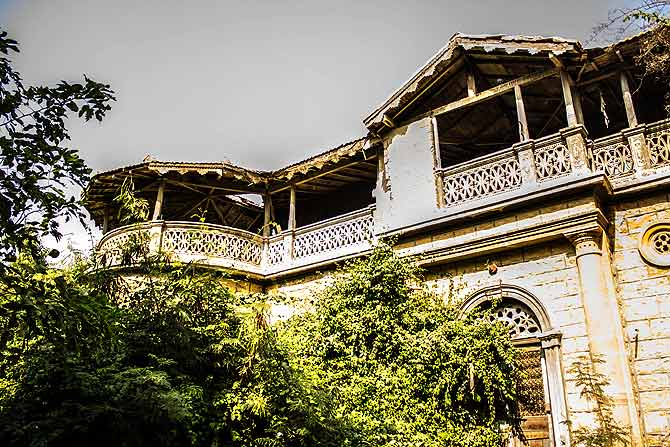 A view of the Jufelhurst School in Karachi. The 81-year-old school's building faces the threat of demolition. – Photo by Shameen Khan/Dawn.com