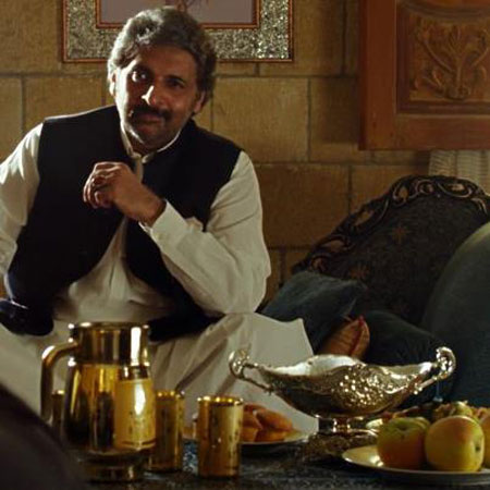 "Kaiser Khan Nizamani stars as the Don of the City of God/Khuda Ki Basti, ""Khan"" in Josh."