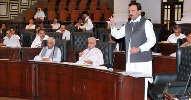 KP Assembly session: Punjab govt accused of patronising