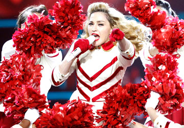 Madonna slams Taliban, dedicates song to Malala at concert