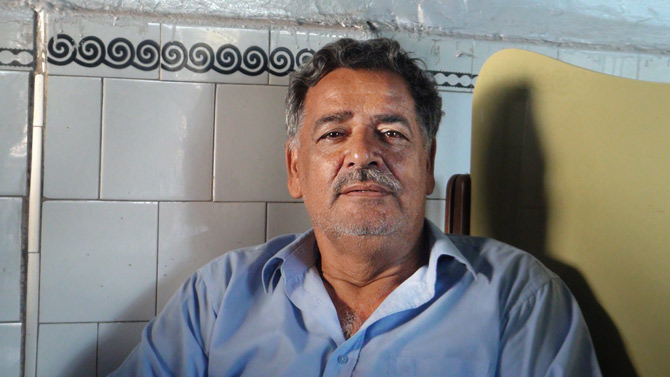 """Abbas Ali, who works at a restaurant says """"This is a huge loss for women. The government should ensure that this doesn't happen again. Women are our mothers, our daughters and the greatest of our teachers. We must give them their rights!"""""""