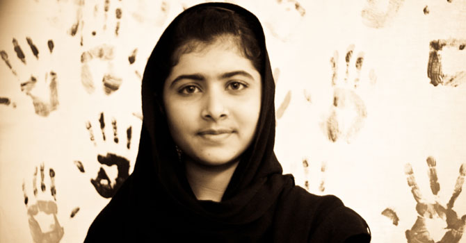 Malala Yousufzai – photo courtesy Nighat Dad